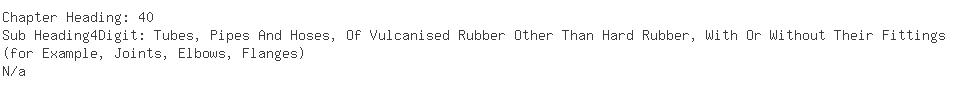 Indian Importers of rubber hose - Oil India Ltd