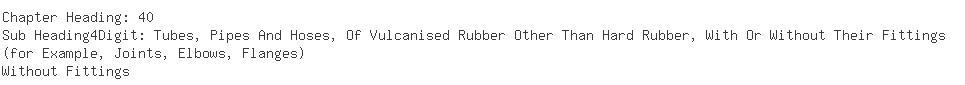 Indian Importers of rubber hose - Jai Prakash Industries Ltd