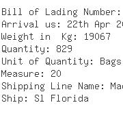 USA Importers of sesame seed - Pegasus Maritime Inc