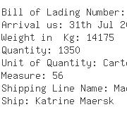 USA Importers of ship oil - Wal-mart Canada Inc