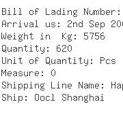 USA Importers of sock - Kuehne Nagel International Ltd