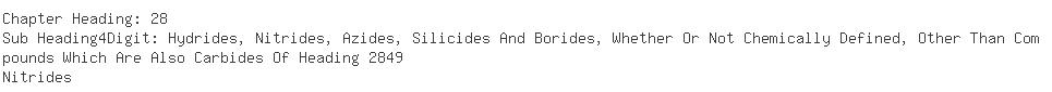 Indian Importers of sodium borohydride - Ranbaxy Laboratories Ltd