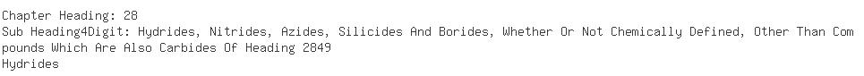 Indian Importers of sodium borohydride - Fdc Ltd