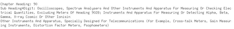 Indian Importers of tester - Fastech Telecommunication (india)p. Ltd