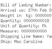 USA Importers of tube hose - Panalpina Inc