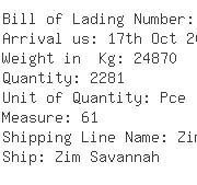 USA Importers of u  valve - Seamates Consolidation Service