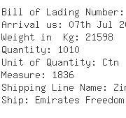 USA Importers of underwear - Serra Shipping Inc