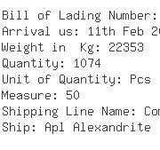 USA Importers of valve - Cali America Logistics Inc