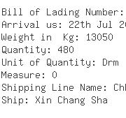 USA Importers of vanillin - Rich Shipping Usa Inc 1055