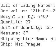 USA Importers of wooden case - Egl Ocean Line C/o Egl Eagle Global