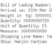 USA Importers of yarn cones - Asiana Express Lax