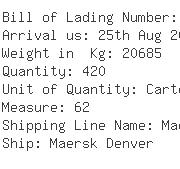 USA Importers of yarn cones - Lyman Container Line