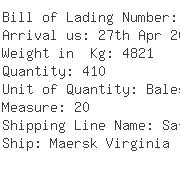 USA Importers of yarn dye - Ark Shipping Inc