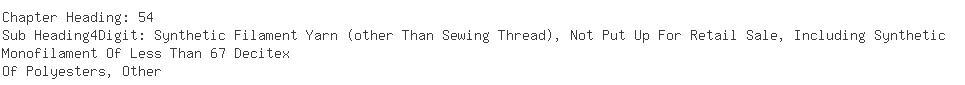 Indian Importers of yarn filament - Shreenath Exim