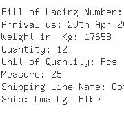 USA Importers of zinc coil - Damco Sea Air