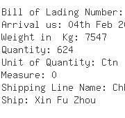 USA Importers of zip bag - Kuehne Nagel International Ltd